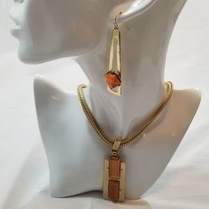 Chico's Necklace and Earring
